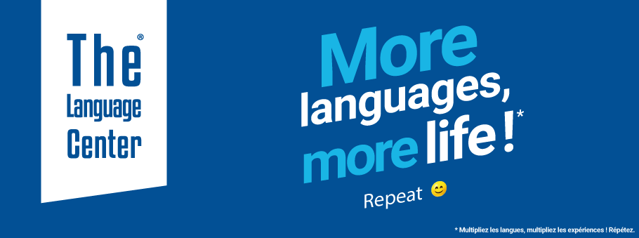 More languages, more life ! Repeat.